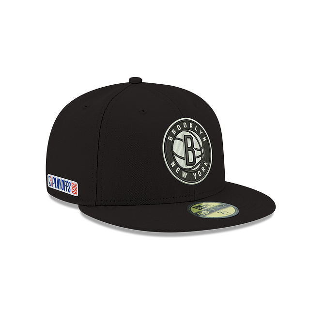 Brooklyn Nets Playoff Series 59FIFTY Fitted  | Brooklyn Nets Hats | New Era Cap