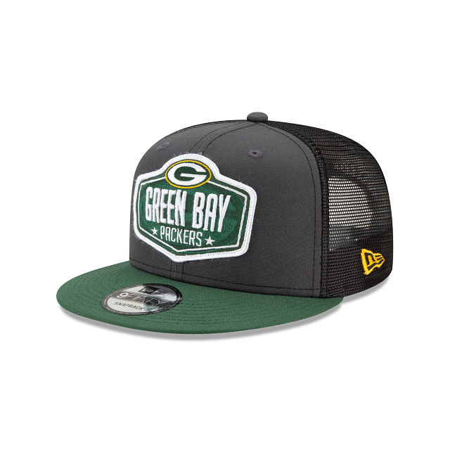 Green Bay Packers NFL Draft 9FIFTY Snapback | Green Bay Packers Hats | New Era Cap