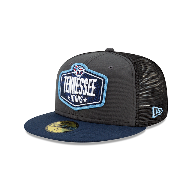 Tennessee Titans NFL Draft 59FIFTY Fitted | Tennessee Titans Hats | New Era Cap