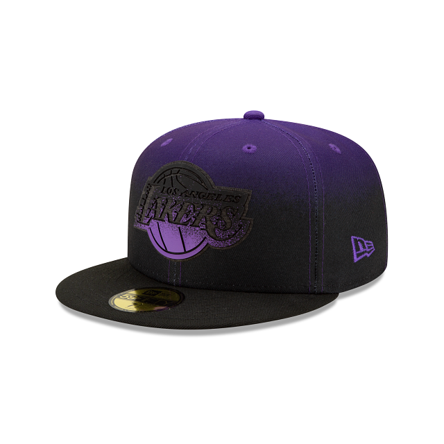 Los Angeles Lakers Back HaLF 59FIFTY Fitted | Los Angeles Lakers Hats | New Era Cap