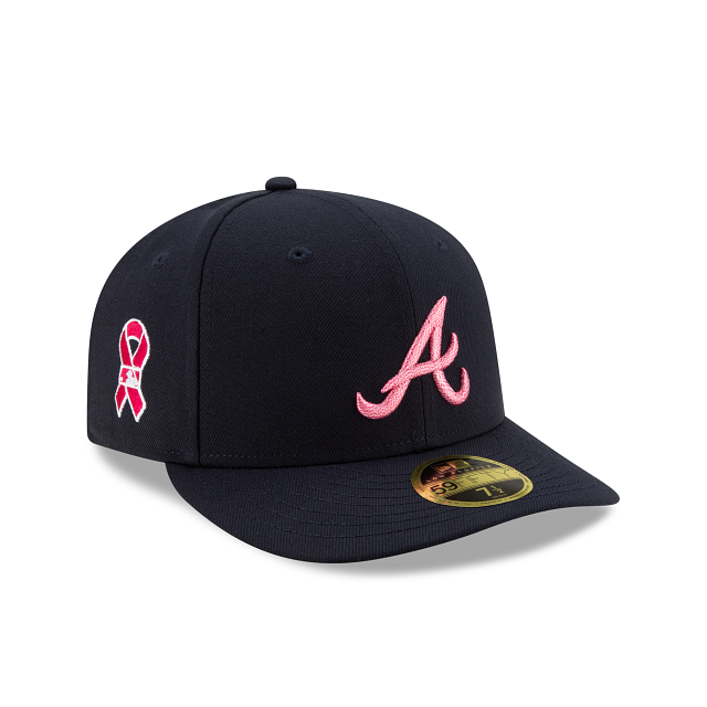 Atlanta Braves Mother's Day Low Profile 59FIFTY Fitted | Atlanta Braves Hats | New Era Cap