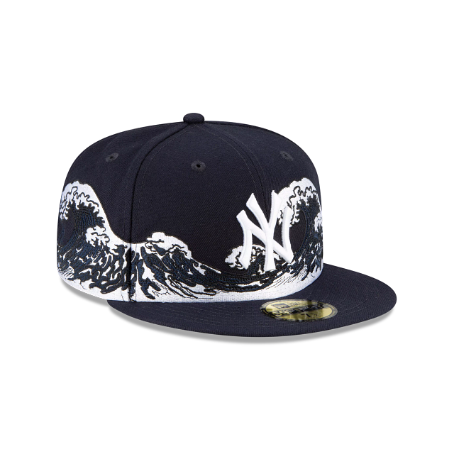 New York Yankees Wave 59FIFTY Fitted | New York Yankees Hats | New Era Cap