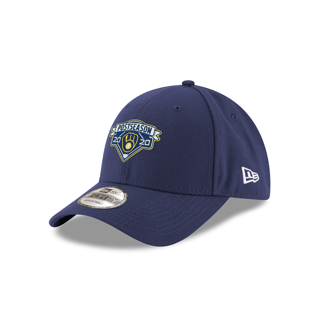 Milwaukee Brewers Postseason Locker Room 9FORTY Adjustable | Milwaukee Brewers Hats | New Era Cap
