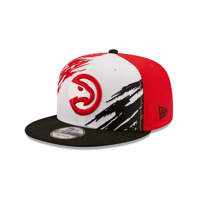 Atlanta Hawks Splatter 9FIFTY Snapback | Atlanta Hawks Hats | New Era Cap