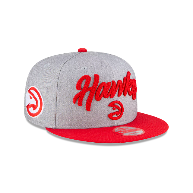 Atlanta Hawks Official NBA Draft 9FIFTY Snapback | Atlanta Hawks Hats | New Era Cap
