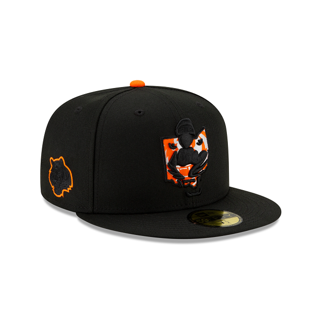 Cincinnati Bengals State Logo Reflect 59FIFTY Fitted | Cincinnati Bengals Hats | New Era Cap