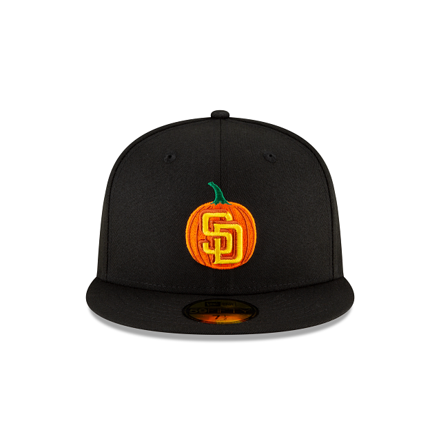 San Diego Padres Carved Pumpkins 59FIFTY Fitted | San Diego Padres Hats | New Era Cap