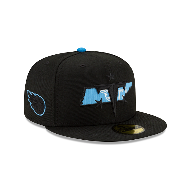 Tennessee Titans State Logo Reflect 59FIFTY Fitted | Tennessee Titans Hats | New Era Cap