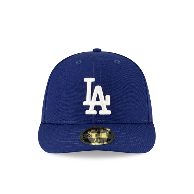 Los Angeles Dodgers Crystals From Swarovski Flag Low Profile 59FIFTY Fitted | Los Angeles Dodgers Hats | New Era Cap