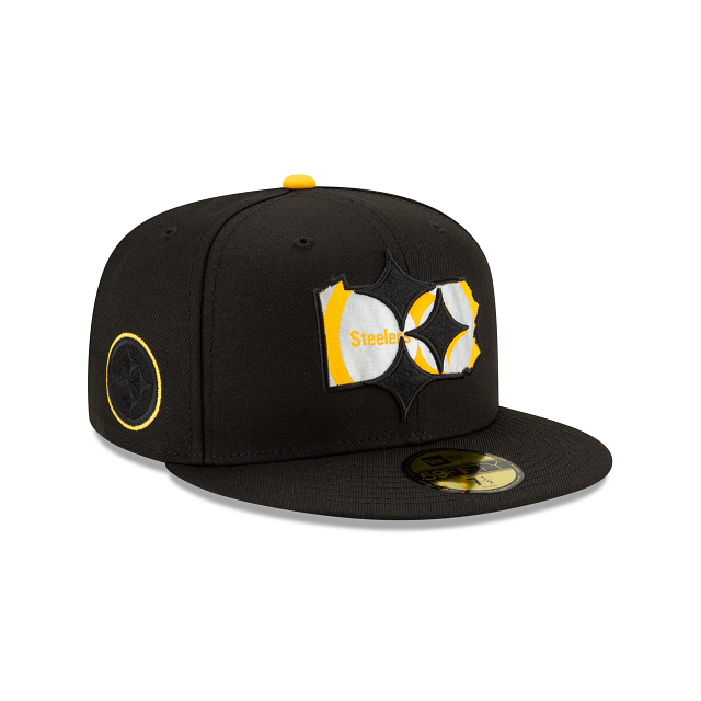 Pittsburgh Steelers State Logo Reflect 59FIFTY Fitted | Pittsburgh Steelers Hats | New Era Cap