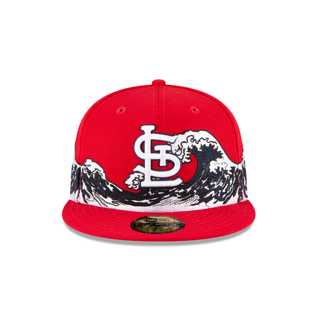 St. Louis Cardinals Wave 59FIFTY Fitted | St. Louis Cardinals Hats | New Era Cap