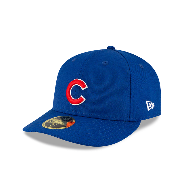 Chicago Cubs Crystals From Swarovski Flag Low Profile 59FIFTY Fitted | Chicago Cubs Hats | New Era Cap
