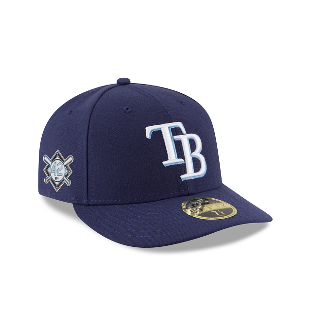 Tampa Bay Rays Jackie Robinson Day Low Profile 59FIFTY Fitted | Tampa Bay Rays Hats | New Era Cap