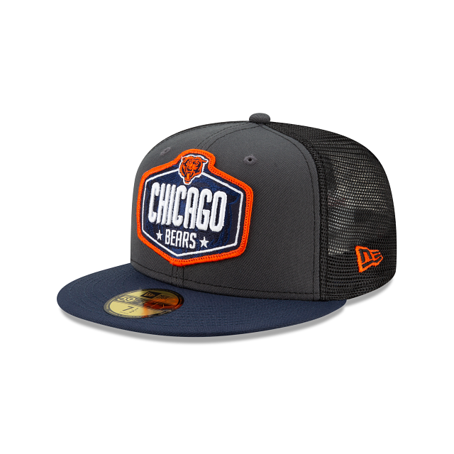Chicago Bears NFL Draft 59FIFTY Fitted | Chicago Bears Hats | New Era Cap