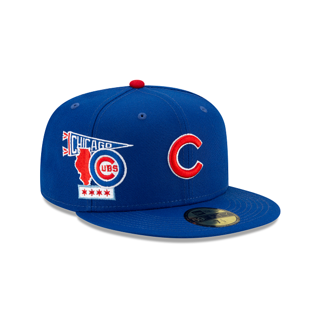 Chicago Cubs City Patch 59FIFTY Fitted | Chicago Cubs Hats | New Era Cap