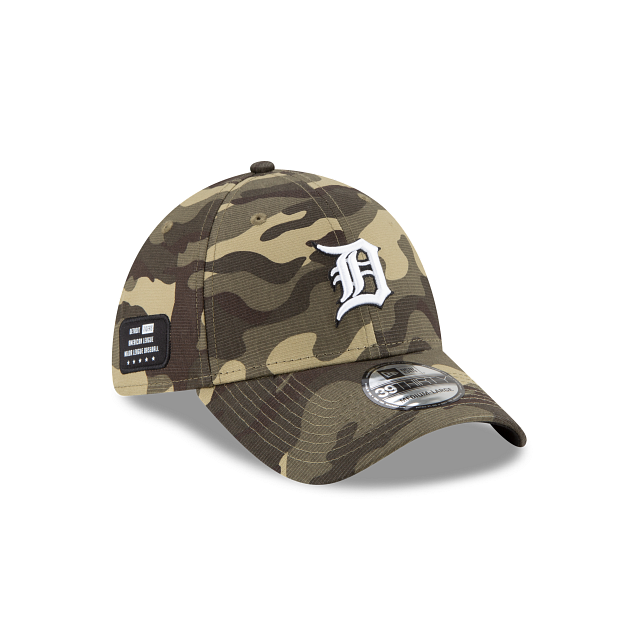 Detroit Tigers Armed Forces Weekend 39THIRTY Stretch Fit | Detroit Tigers Hats | New Era Cap