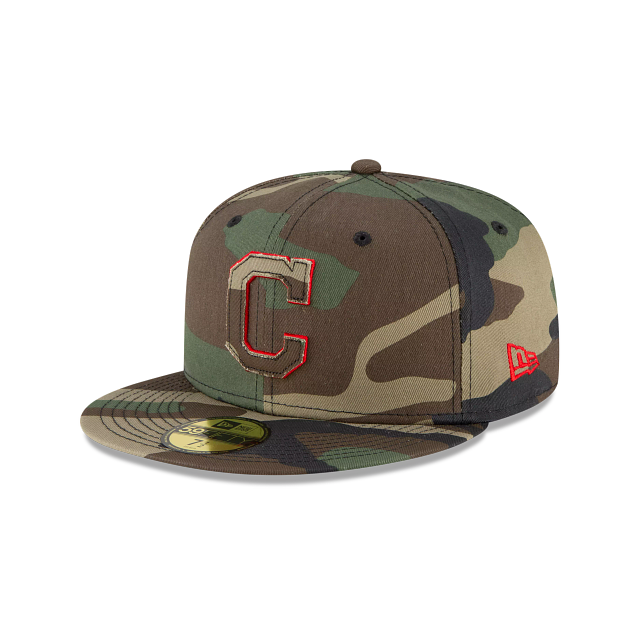 Cleveland Indians Forest Pop 59FIFTY Fitted | Cleveland Indians Hats | New Era Cap
