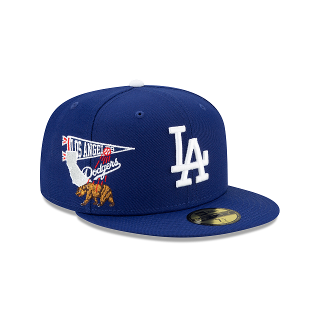 Los Angeles Dodgers City Patch 59FIFTY Fitted | Los Angeles Dodgers Hats | New Era Cap