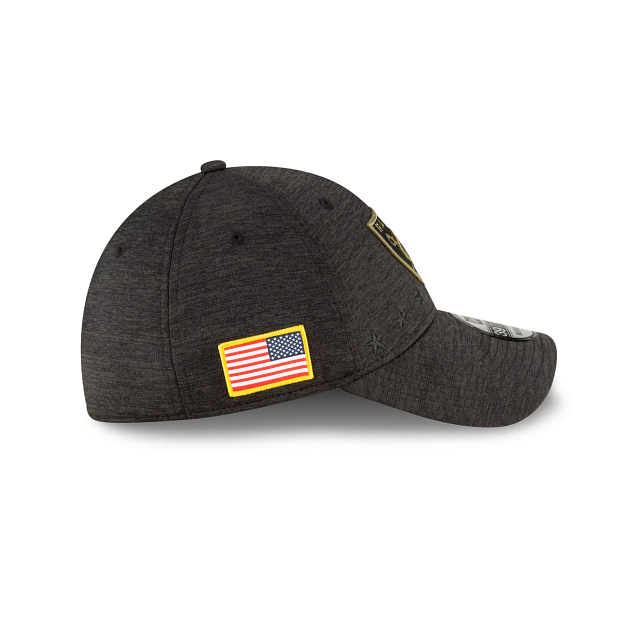 Las Vegas Raiders Salute To Service 39THIRTY Stretch Fit | Las Vegas Raiders Hats | New Era Cap