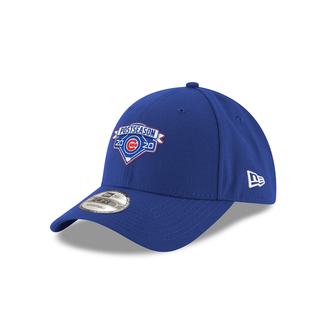 Chicago Cubs Postseason Locker Room 9FORTY Adjustable | Chicago Cubs Hats | New Era Cap
