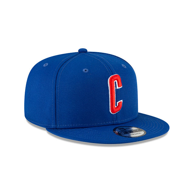 Chicago Cubs Ligature 9FIFTY Snapback | Chicago Cubs Hats | New Era Cap