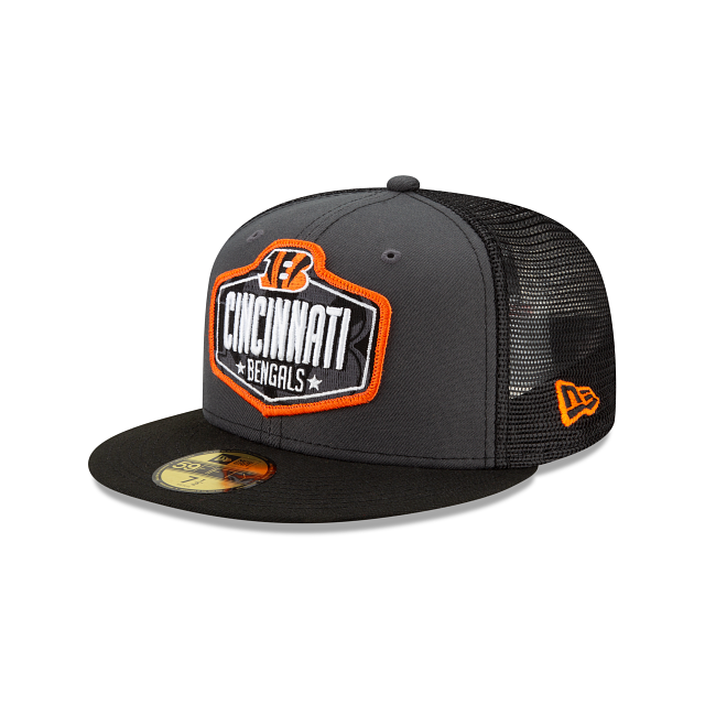Cincinnati Bengals NFL Draft 59FIFTY Fitted | Cincinnati Bengals Hats | New Era Cap