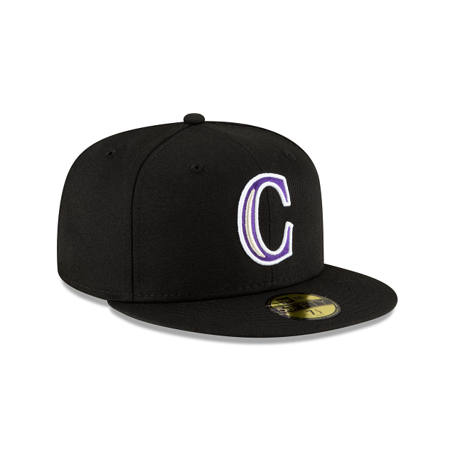 Colorado Rockies Ligature 59FIFTY Fitted | Colorado Rockies Hats | New Era Cap