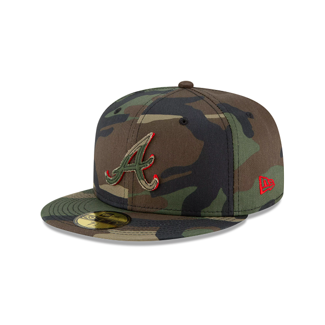 Atlanta Braves Forest Pop 59FIFTY Fitted | Atlanta Braves Hats | New Era Cap