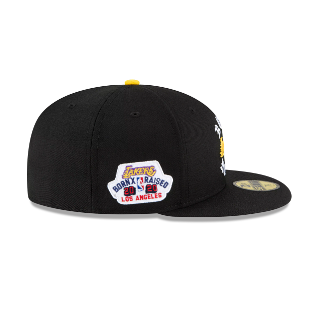 Born X Raised Los Angeles Lakers Arc 59FIFTY Fitted | Los Angeles Lakers Hats | New Era Cap