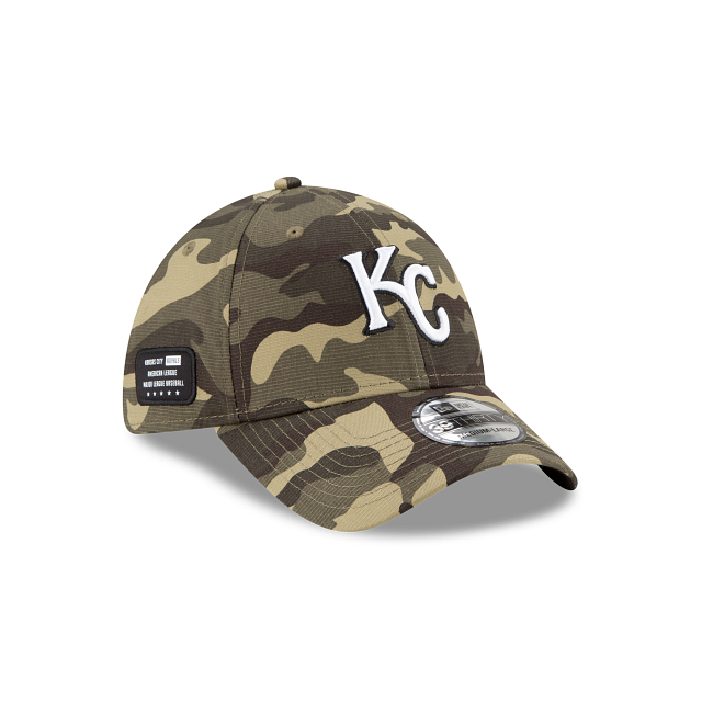 Kansas City Royals Armed Forces Weekend 39THIRTY Stretch Fit | Kansas City Royals Hats | New Era Cap