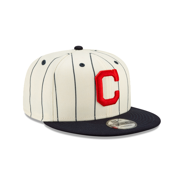 Cleveland Indians Pinstripe 9FIFTY Snapback | Cleveland Indians Hats | New Era Cap