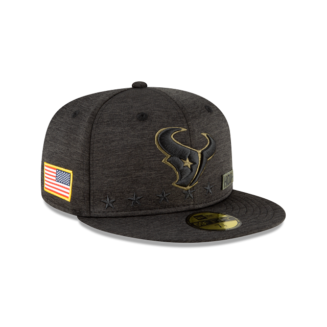 Houston Texans Salute To Service 59FIFTY Fitted | Houston Texans Hats | New Era Cap