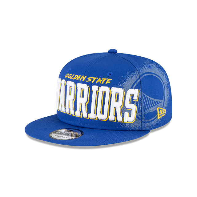 Golden State Warriors Faded 9FIFTY Snapback | Golden State Warriors Hats | New Era Cap