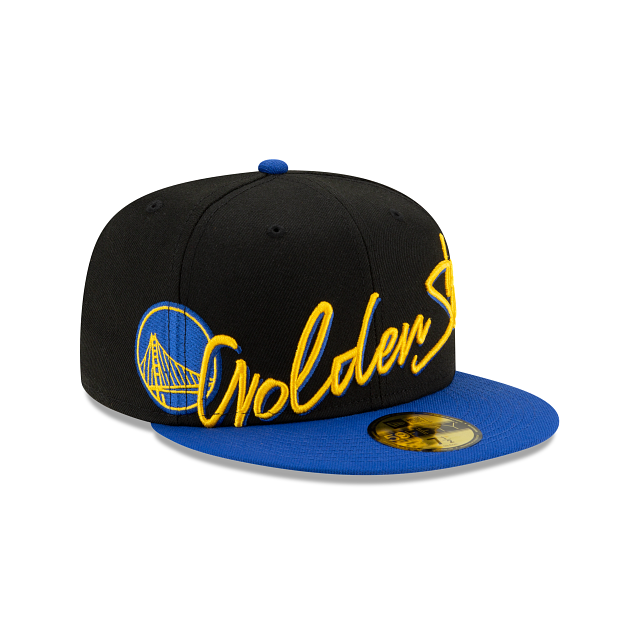 Golden State Warriors Cursive 59FIFTY Fitted | Golden State Warriors Hats | New Era Cap