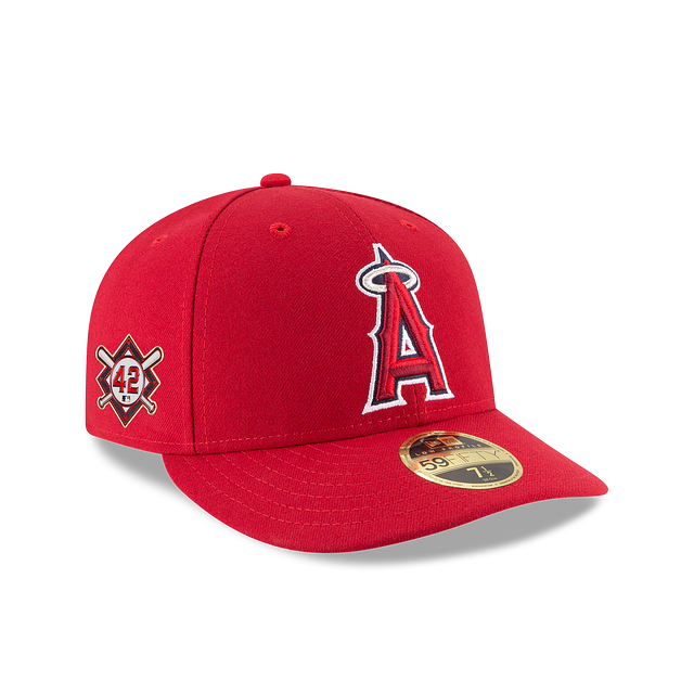 Los Angeles Angels Jackie Robinson Day Low Profile 59FIFTY Fitted | Los Angeles Angels Hats | New Era Cap