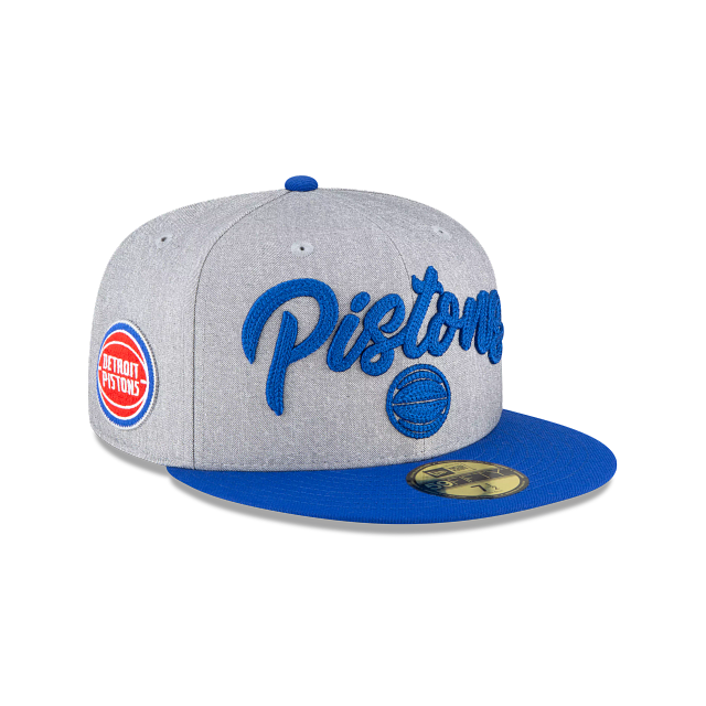 Detroit Pistons NBA Draft 59FIFTY Fitted | Detroit Pistons Hats | New Era Cap