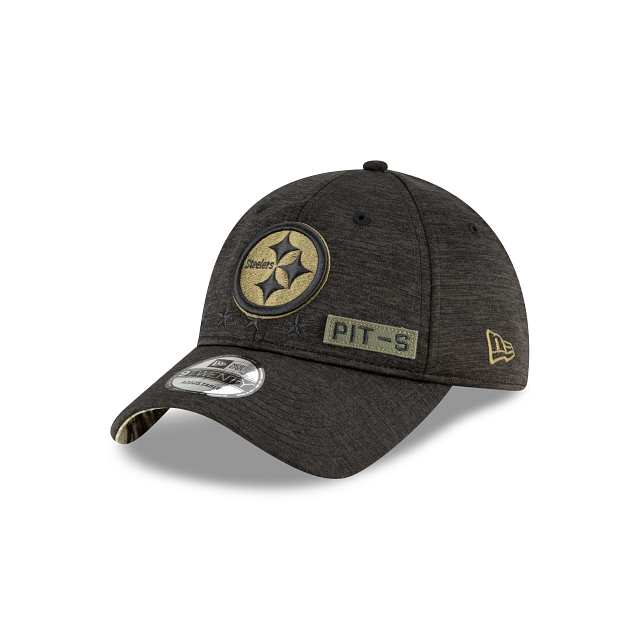 Pittsburgh Steelers Salute To Service 9TWENTY Adjustable | Pittsburgh Steelers Hats | New Era Cap