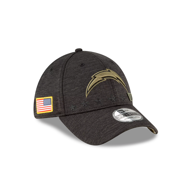 Los Angeles Chargers Salute To Service 39THIRTY Stretch Fit | Los Angeles Chargers Hats | New Era Cap