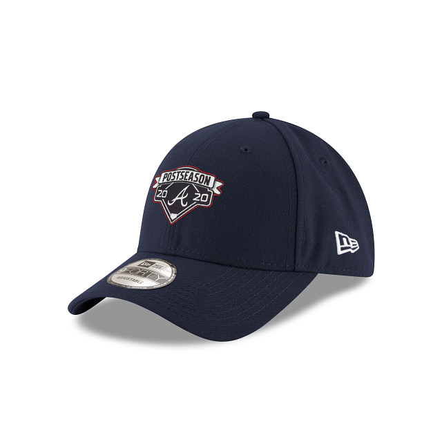 Atlanta Braves Postseason Locker Room 9FORTY Adjustable | Atlanta Braves Hats | New Era Cap
