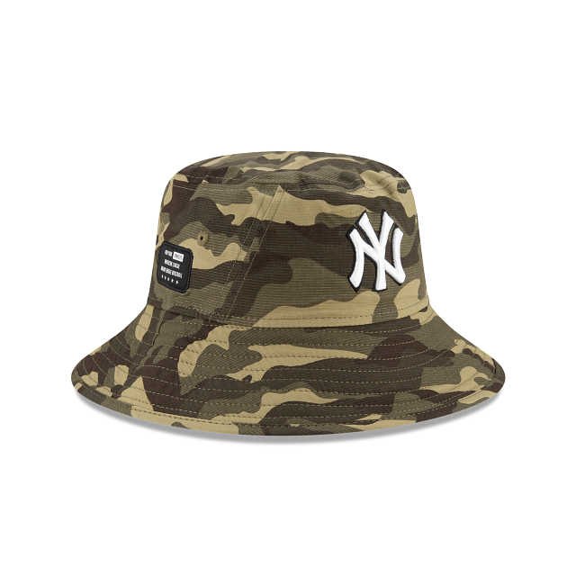 New York Yankees Armed Forces Weekend Stretch Bucket | New York Yankees Hats | New Era Cap