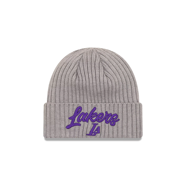 Los Angeles Lakers NBA Draft Cuff Knit Beanie | Los Angeles Lakers Hats | New Era Cap