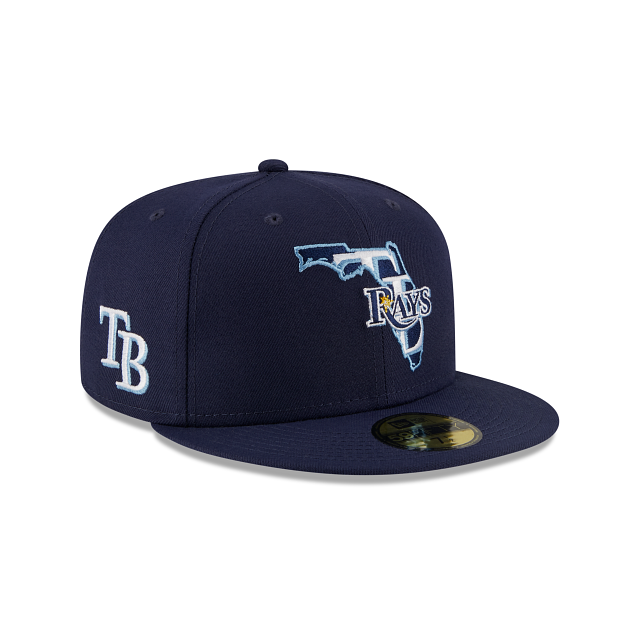 Tampa Bay Rays Local 59FIFTY Fitted | Tampa Bay Rays Hats | New Era Cap