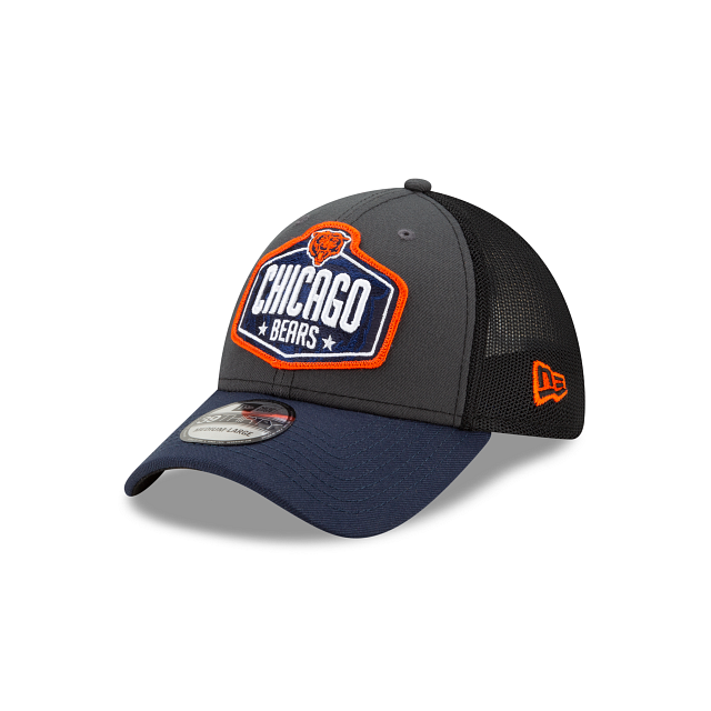 Chicago Bears NFL Draft 39THIRTY Stretch Fit | Chicago Bears Hats | New Era Cap