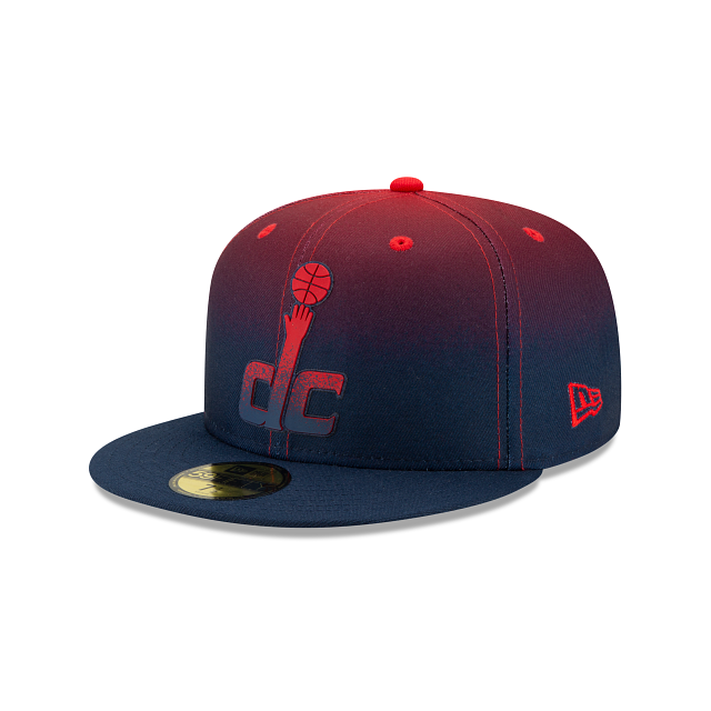 Washington Wizards Back HaLF 59FIFTY Fitted | Washington Wizards Hats | New Era Cap