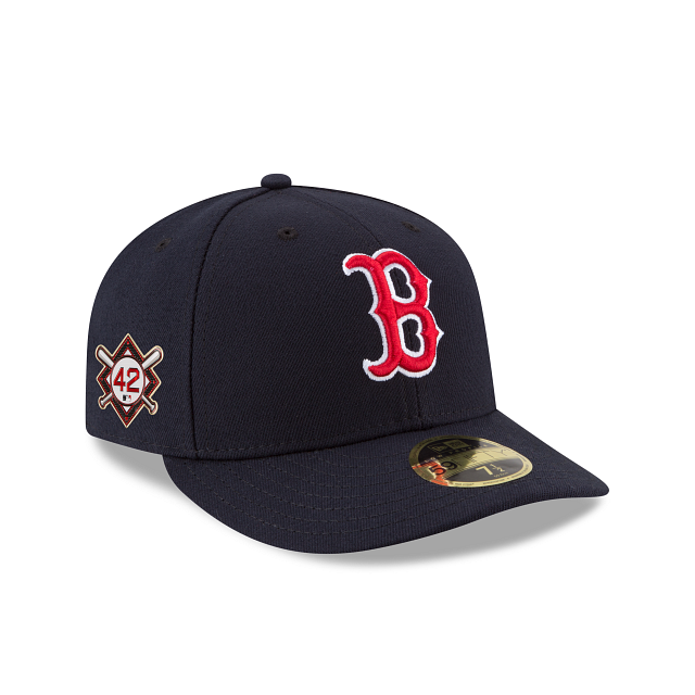 Boston Red Sox Jackie Robinson Day Low Profile 59FIFTY Fitted | Boston Red Sox Hats | New Era Cap