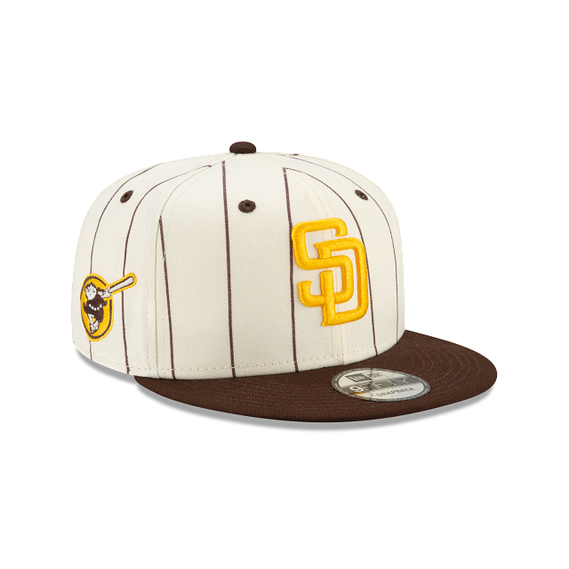 San Diego Padres Pinstripe 9FIFTY Snapback | San Diego Padres Hats | New Era Cap