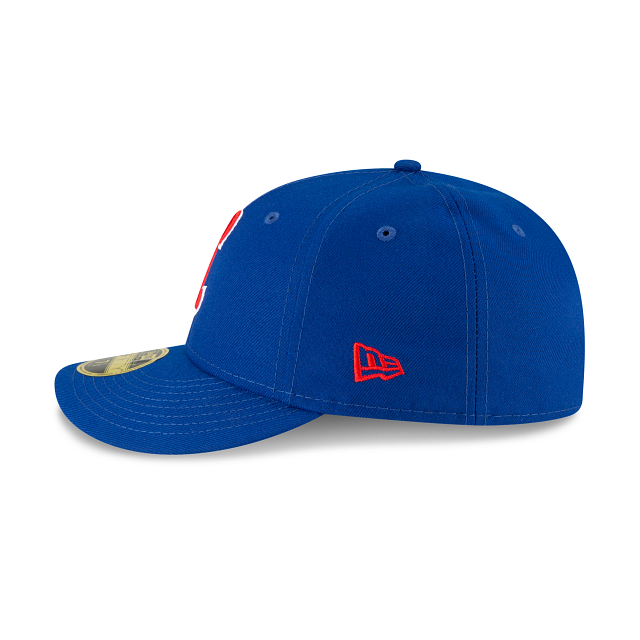 Chicago Cubs Ligature Low Profile 59FIFTY Fittted | Chicago Cubs Hats | New Era Cap