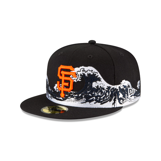 San Francisco Giants Wave 59FIFTY Fitted | San Francisco Giants Hats | New Era Cap