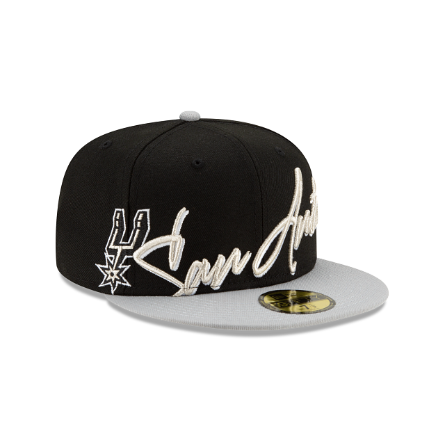 San Antonio Spurs Cursive 59FIFTY Fitted | San Antonio Spurs Hats | New Era Cap