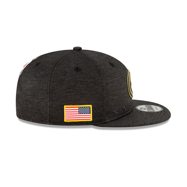 Green Bay Packers Salute To Service 9FIFTY Snapback | Green Bay Packers Hats | New Era Cap